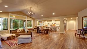 Match Wall Tones with your Wood Floors